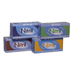 Nitrilhandsker - Ring for at bestille - 86 21 51 22 - Alle størrelser