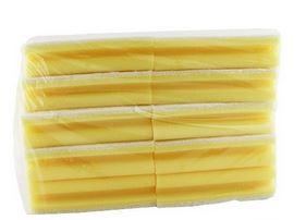 10 stk skuresvamp fin, hvid