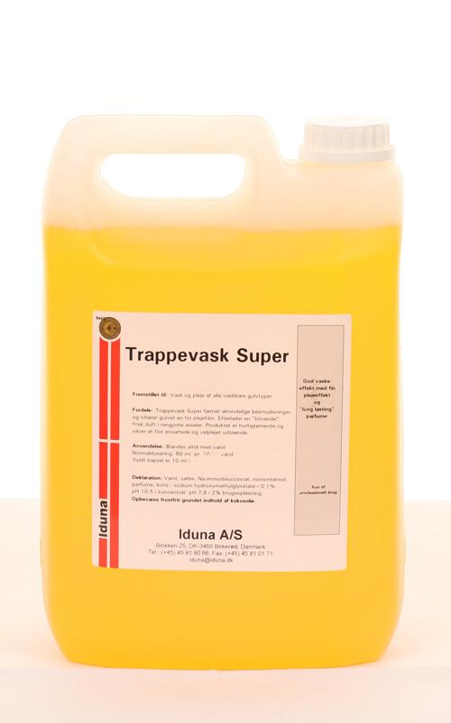 Trappevask Super 5 l