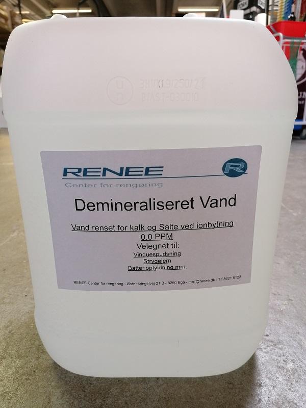 Demineraliseret vand - 20 liter