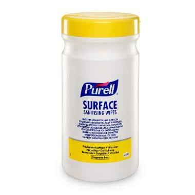Desinfektionsserviet Purell, 200 stk.