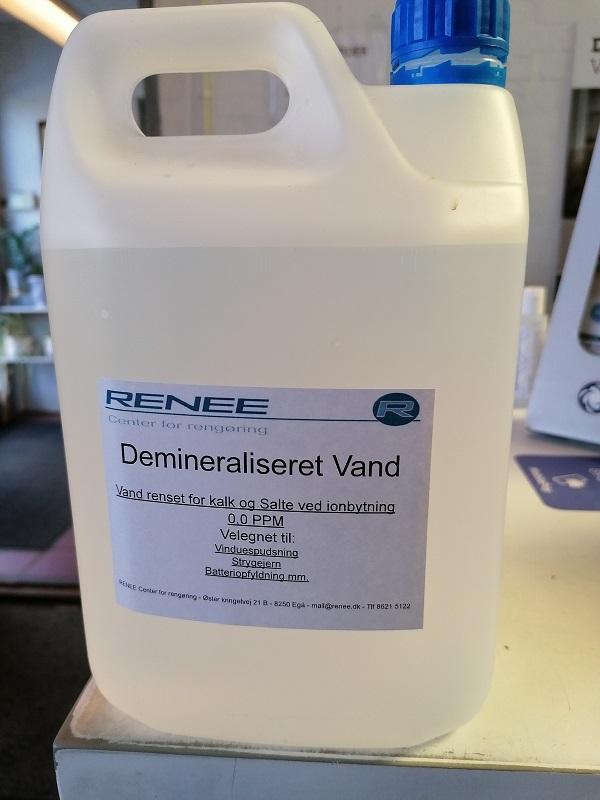 Demineraliseret vand - 2,5 liter