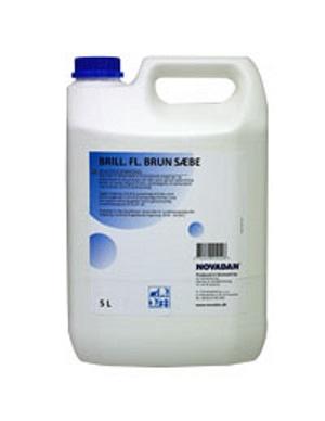 Brilliant flydende brun sæbe - 5 Liter