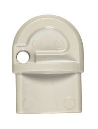 Dispensernøgle plast halvrund
