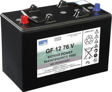 Sonnenschein Batteri 12V GF-V-76V