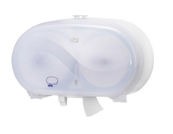 Dispenser til Compact toiletpapir (Hvid)