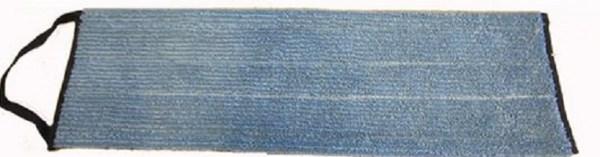 Microfibermoppe blå 40 cm velcro
