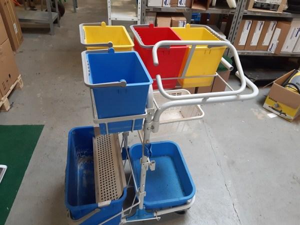 Rengøringsvogn brugt - DIT vogn