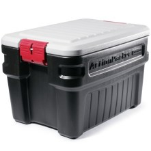 Rubbermaid 24 gallon storage box at REI