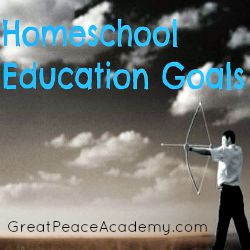 An Arrow in the Hand: an educational goal for training up in God's Word at Great Peace Academy