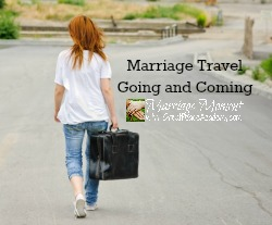 Marriage Travel, when a couple must travel separately. Marriage Moments at Great Peace Academy
