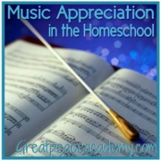 SQUILT Music Appreciation for the Homeschool.   Great Peace Academy