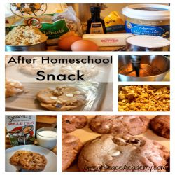 After Homeschool Snack, Not a Chocolate Chip Cookie Recipe   Great Peace Academy