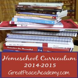 Homeschool Curriculum 2014.2015 Thumbnail