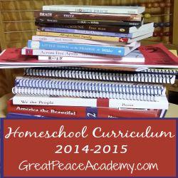 Homeschool Curriculum 2014.2015 Thumbnail