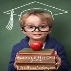 "Parents of a Gifted Child this ready guide is for you. Book Review of ""Raising a Gifted Child"" by Carol Fertig. at Great Peace Academy.com"