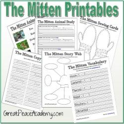 The Mitten Printable Thumbnail