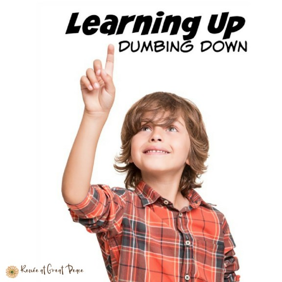 Gifted Education in America Learning UP, Dumbing Down | Renée at Great Peace #homeschool #gifted #gtchat