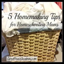 5 Tips for Homemaking