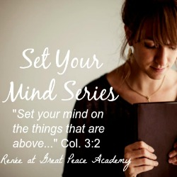 Set Your Minds: Preparing for Worship, Sanctify your Hearts