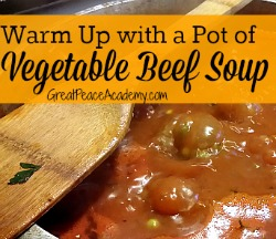 Warm Up with Vegetable Beef Soup 2