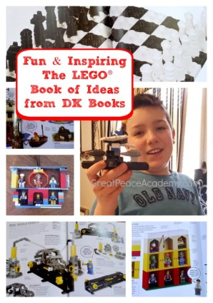4 Books: The LEGO Ideas Book from DK Books.   Great Peace Academy.com