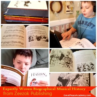 Comprehensive Music Appreciation Study from Zeezok Publishing, Review   Great Peace Academy