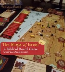 The Kings of Israel a Biblical Board Game Review.   Great Peace Academy