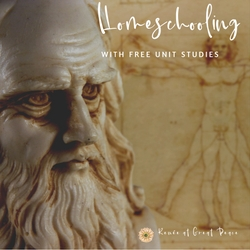 Homeschooling with FREE Unit Studies | Renée at Great Peace #Homeschooling #homeschoolmoms #ihsnet #unitstudies