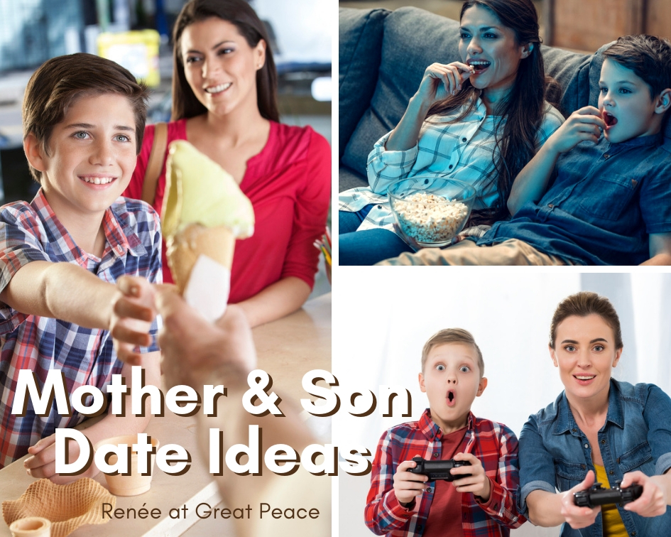 5 Mother and Son Date Ideas | Renée at Great Peace #familybonding #family #boymom #ihsnet