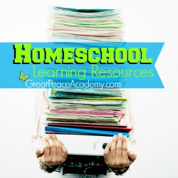 Homeschool Learning Resources at Great Peace Academy