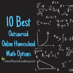 10 Best Outsourced Online Homeschool Math Options | Great Peace Academy