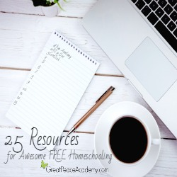 25 Resources for FREE Homeschooling Thumbnail