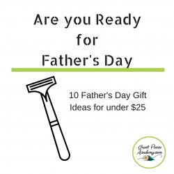 10 Father's Day Gifts for under $25 | GreatPeaceAcademy.com