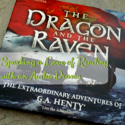 Sparking a Love of Reading with an Audio Drama from Heirloom Audio   GreatPeaceAcademy.com #ihsnet