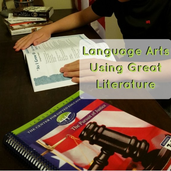 A New Find: Excellent Language Arts Using Great Literature | GreatPeaceAcademy.com #ihsnet #gifted