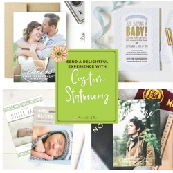 Send a Delightful Experience with Custom Stationery from @BasicInvite   Renée at Great Peace #ihsnet