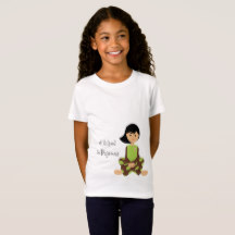 I School in Pajamas Girls - Tee | Renée at Great Peace #homeschool #ihsnet
