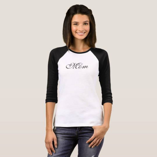 Mom Jersey Tee | Renée at Great Peace #ihsnet