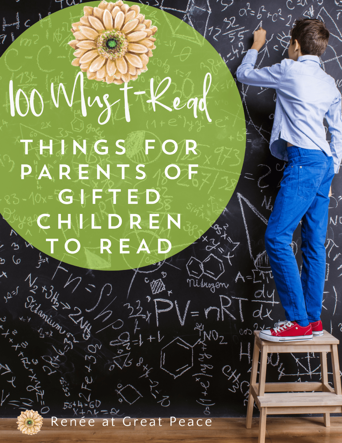 100 Must-Read Things for Parents of Gifted Children to Read Discover a wealth of reading resources for parents of gifted children to read; blogs, books, to websites offering information, you'll find 100 things.| Renée at Great Peace #gifted #gtchat #ihsnet #homeschool