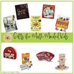 Gifts for Math Minded Kids | #gifted #gtchat #homeschool #ihsnet