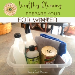 It's Time to Prepare your Home for Winter Months with Healthy Cleaning Habits   ReneeatGreatPeace.com #ihsnet #homeschool #cleaning #keeperathome #keeper