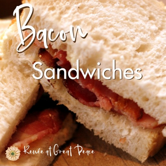 How to Make a BLT Sandwich ON the THM Plan   Renée at Great Peace #mealplanning #TrimHealthyMama