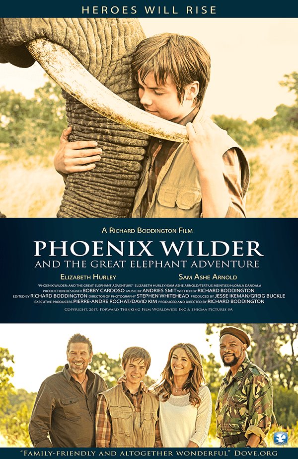 Phoenix Wilder: And The Great Elephant Adventure Coming Soon to Theaters - April 16, 2018
