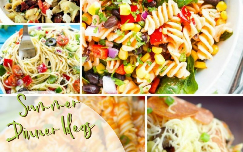 Summer Dinner Ideas Pasta Salads | Renée at Great Peace