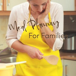 Meal Planning for Families | Renée at Great Peace #mealplanning #families #dinnerideas