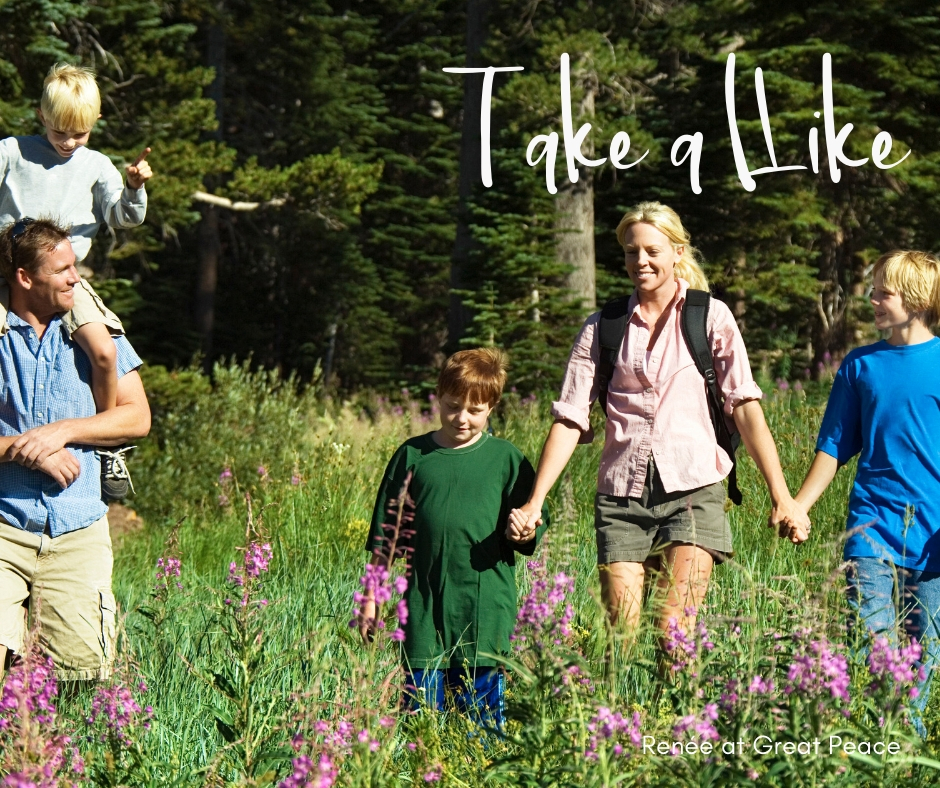 Take a Hike & 51 Other Family Bonding Activities | Renée at Great Peace #familybonding #family #activities