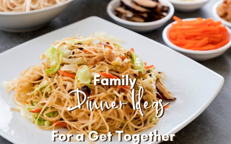 Family Dinner Ideas for a Get Together | Renée at Great Peace #mealplanning #familydinner #familydinnerideas #dinner #ihsnet