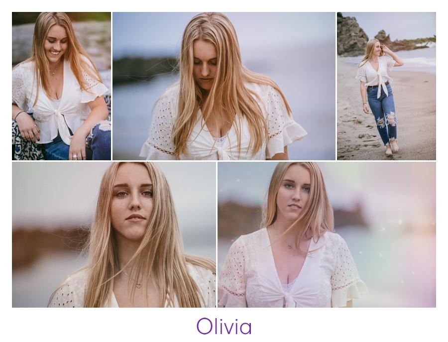 senior portraits beach