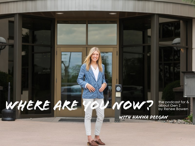 Business, Brains &; Beauty :: My Chat with Hanna Degen :: Episode 2 Where Are You Now Podcast